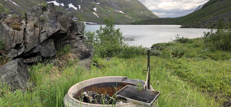 Bålplass Olderdalshytta